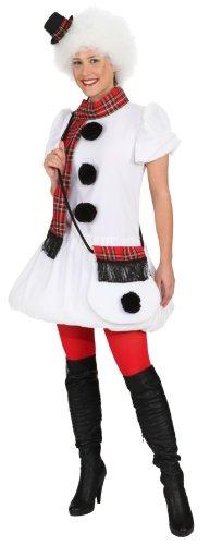 Orlob Damen Kostüm Schneemann verkleiden zu Karneval Fasching Gr.44/46