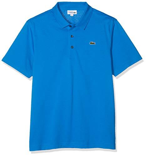 Lacoste Herren Sport, Poloshirt L1230-00, Einfarbig, Gr. XXX-Large (Herstellergröße: 56)(T8), Blau (L61 NATTIER)
