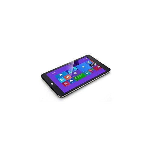 NuVision 8-Inch Full HD IPS 1920 x 1200 Touchscreen Tablet PC, Intel Atom Z3735F Quad-Core Processor, 2GB RAM, 32GB eMMC SSD, Webcam, WIFI, Windows 10, Silver