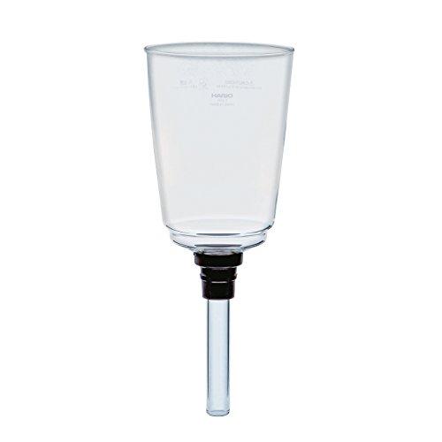 Hario VD Glas oberen Schale für Kaffee Siphon, transparent, Durchsichtig, 5 Cup