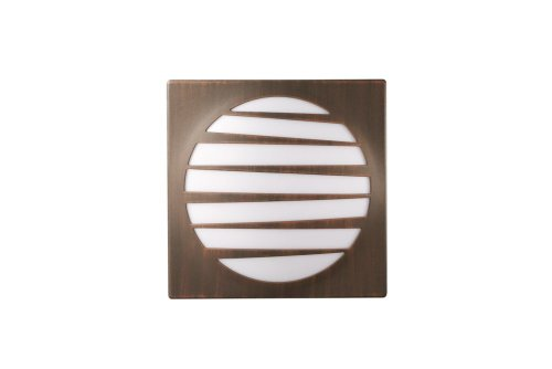 Massieve 17167/86/10 buitenverlichting (wand, fluorescerend wisselstroom, warmwit, E27, bruin)