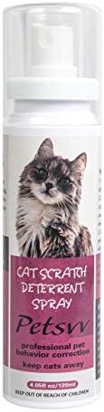 QUTOP Cat Deterrent Spray Cat Scratch Deterrent Training Spray Safe for Plants Floors Cat Repellent product image
