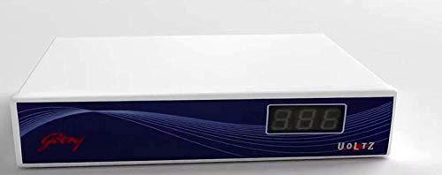 Refrigerator Stabilizer Automatic G500X9 (Working Rang 130V-280V), Metallic Grey – Digital Display Compatible with godrej