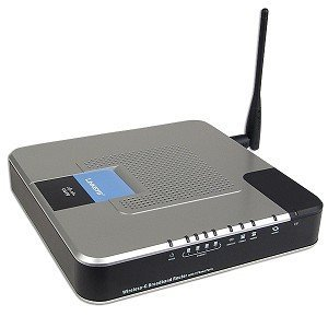 Wrtu54g-tm T-mobile Hotspot @ Home 802.11g Broadband Router with 2 Phone Ports