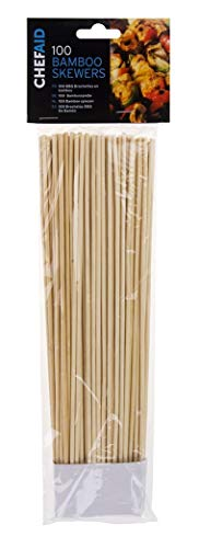 Chef Aid Bamboo Skewers - 25.5cm - Pack of 100