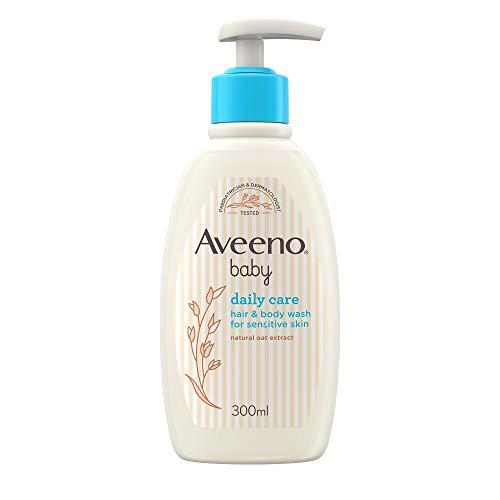 AVEENO Baby Daily Care Hair & Body Wash, 300 ml (Verpackung kann variieren )