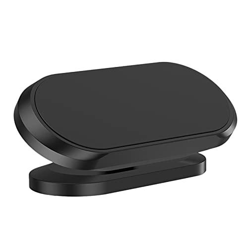 JYINGKJ Soporte para teléfono de Coche Tenedor de teléfono magnético del teléfono de 360 Grados Rotating Anti-Slip Soporte Mobilephone Hold Clip for teléfono en su Corchete (Color : Black)