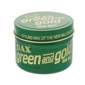 DAX GREEN AND GOLD HAIR WAX 99gm by DAX
