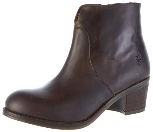 Fly London Damen Zolt484fly Kurzschaft Stiefel, Braun (Dk. Brown 001), 40 EU