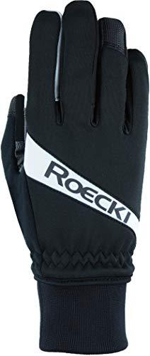 Roeckl Rofan 2021 - Guantes de invierno para bicicleta, talla 7, color negro y blanco
