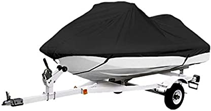 North East Harbor Black Trailerable PWC Personal Watercraft Cover Covers Fits 2-3 Seat Or 127