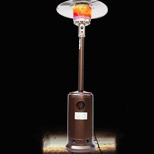 jinrun Calefactor Terraza Calentador Hogar Otoño Paraguas Tipo Licuado Petróleo Gas Parrilla Estufa Sala de Estar Calentador Interior Calefactor para Interiores (Color : A)