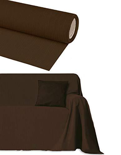 Byour3 Funda para sofá de algodón de 2, 3, 4 y 5 plazas artesanales. Funda para sofá esquinero con chaise longue de 4 plazas