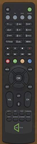 Yantai vervangende afstandsbediening voor HUMAX RM-E06 RM-E12 IRHD-5100C IRHD-5150C IRHD-5200C IRHD-5400C CXHD-5150C HD-7000I HD7000