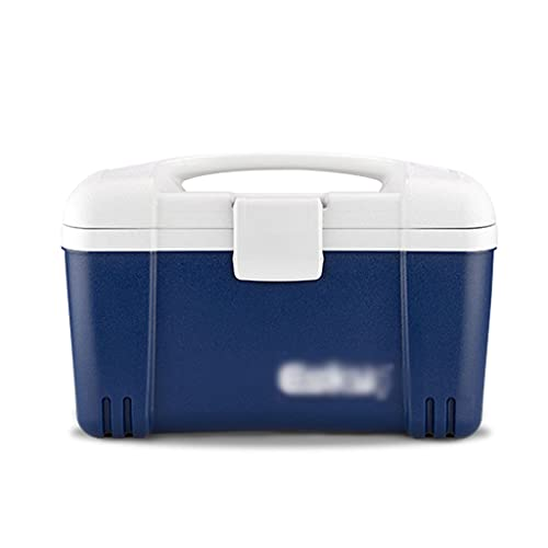 SHENXINCI Cubeta de Hielo Performance Cooler Nevera Portatil y Rigida, Porta Alimentos Nevera Portátil Unisex, Aislamiento y Enfriador con Asa Portátil,6 litros, 10 litros, 12 litros, 26 litros