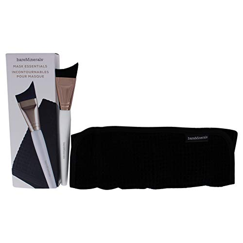 Bareminerals Skinsorials Mask Essentials - Smoothing Brush And Removal Cloth