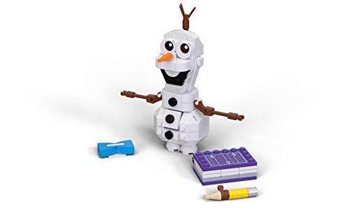 LEGO Disney Frozen II Olaf 41169 Olaf Snowman Toy Figure Building Kit Christmas Gift 122 Pieces