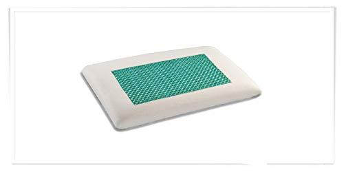 Ailime Matelas lit Waterfoam 65 x 140 x 10 cm Mousse polyuréthane orthopédique carré Polyester Blanc