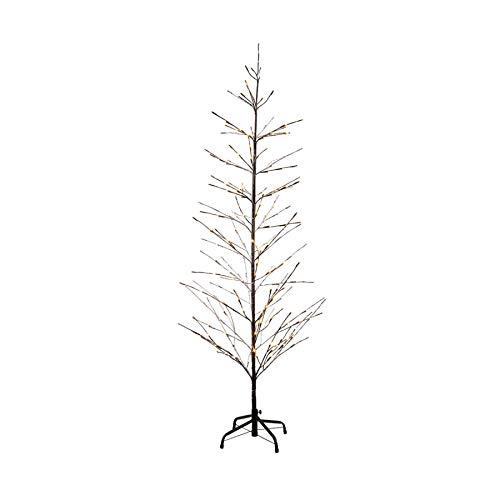 Sirius LED Baum Isaac Tree 380 LED warmweiß außen 210 cm braun beschneit