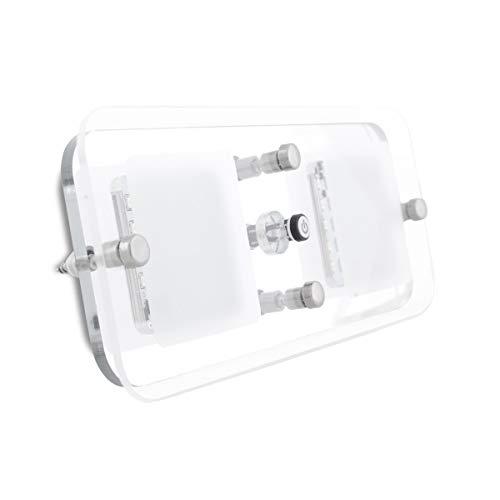 Dream Lighting 12V LED Wohnzimmerlampe Deckenleuchte Schrankbeleuchtung, Wohnmobile/RV/Boot Innen Anwendung,Warmweiß Blau,Schalter,280 Lumens