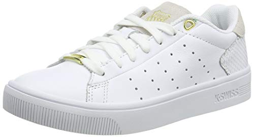 K-Swiss Damen Court Frasco II Sneaker, Weiß (White/Python 176), 39 EU