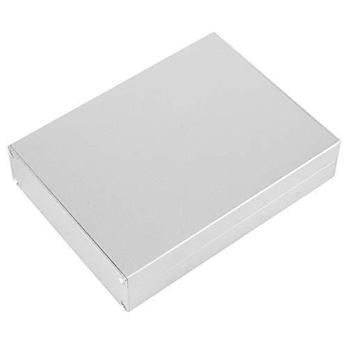 Caja de placa de circuito, hermosa caja de aluminio dividida de 33X114X150Mm, para carcasas de aluminio de disipación de calor de productos electrónicos, cajas de conexiones