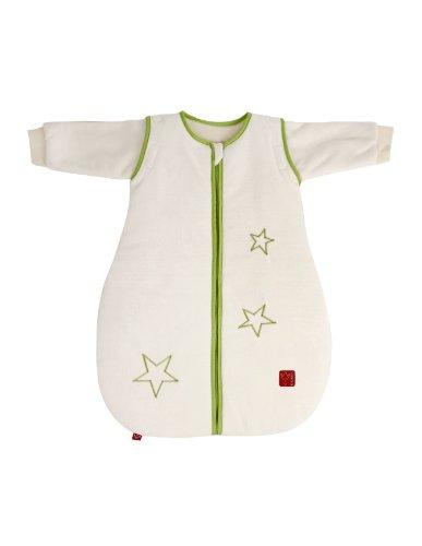 Kaiser 65071130 Schlafsack STAR middlezip, Ganzjahresschlafsack, Arme abtrennbar, 70 cm, beige