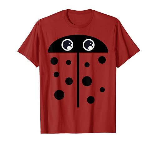 Disfraz de mariquita para chicas, chicas, mariquita Camiseta