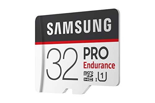 Samsung MB-MJ32GA/EU PRO Endurance 32 GB microSDHC UHS-I U1 Speicherkarte inkl. SD-Adapter Schwarz/Weiß