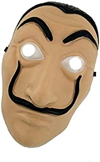 Dali Mask Money Heist The House of Paper La Casa De Papel Mask for Men Women Salvador Dali Mask Halloween Carnival Christmas