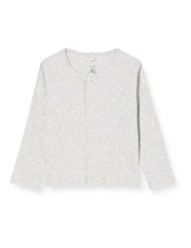 Petit Bateau Unisex Baby 5897402 Sweater-Strickjacke, Beluga China, 0 Monat