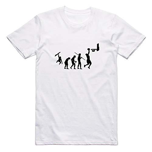 The Evolution of Basketball Street Basket Wear Camiseta Blan