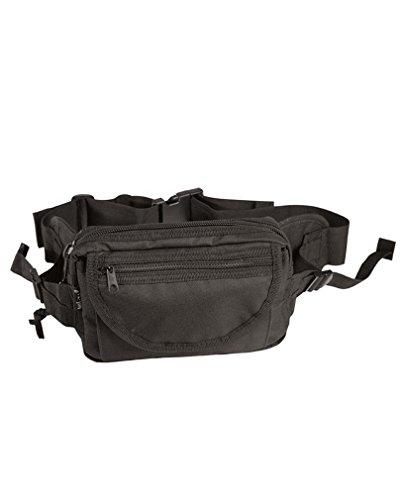 Mil-Tec Sacoche de ceinture Grande taille Noir
