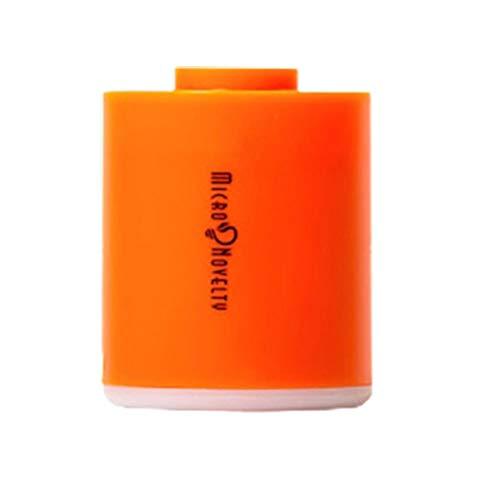 Dunmo Bomba de aire portátil recargable por USB Mini inflador de aire Bomba impermeable Inflatables portátil para colchón de aire Anillos de natación Compresor de aire Bomba de vacío