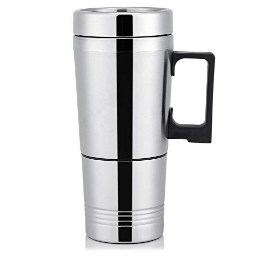 Auto-Wasser-Heizung, 12V / 24V 300ml Autoelektrik Kaffee-Tee-Wasser-Becher Fahrzeug Heizung Trinkbecher Flasche (Größe : 12V)