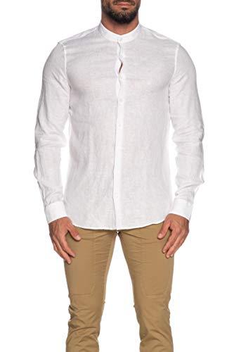 Calvin Klein K10K105389 Camicie Uomo Bianco 42