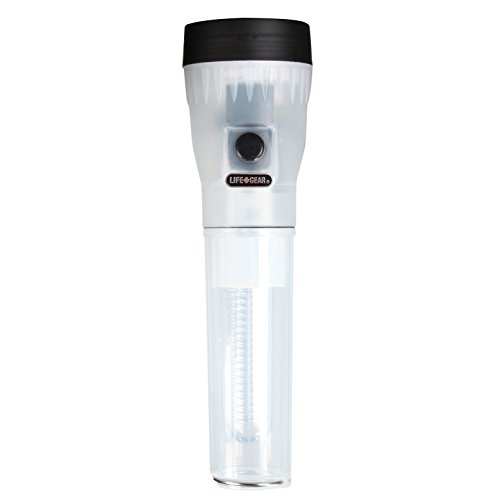 Life Gear AR Technology 2-in-1 Flashlight & Lantern, 50 Lumen Flashlight & 50 Lumen Area Lighting Lantern