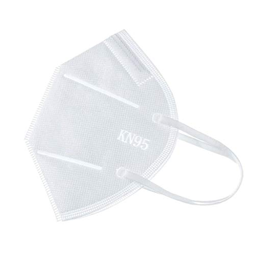 YpingLonk 1/3/5/10/15pc Bufanda Unisex para Adultos - Moda Universal elástica Earloop 4 ply Suave Lindo para el Trabajo Diario al Aire Libre - 10120-17