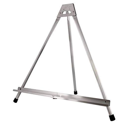 Art Studio Live Aluminum Tabletop Easel | Solid Tri-Pod Display | Best Table Top Design with Large Rubber Feet | No Arms