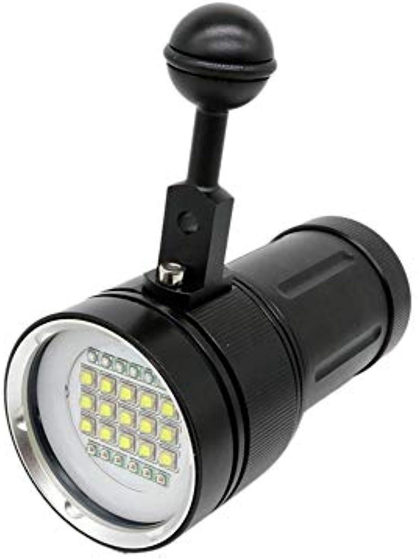 Knowled Taschenlampe Tauchen Licht Unter Wasser Blitzlicht Professionelle Scuba Wasserdichte Unterwasser, 600 Lumen Helle Lampe, Für Fotografie Video Tauchen Taschenlampe Fackel