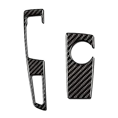 Iinger Etiquetas engomadas del marco del panel del panel de cambios de carga del automóvil adaptados para el interior para -BMW 5 Serie F07 F10 X3 X4 F25 F26 2009-2016
