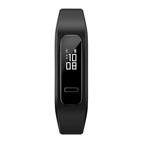Huawei Band 3e Fitness Wristband Activity Tracker - Black (Multi-method wearing,5ATM,Up to 21 days usage)