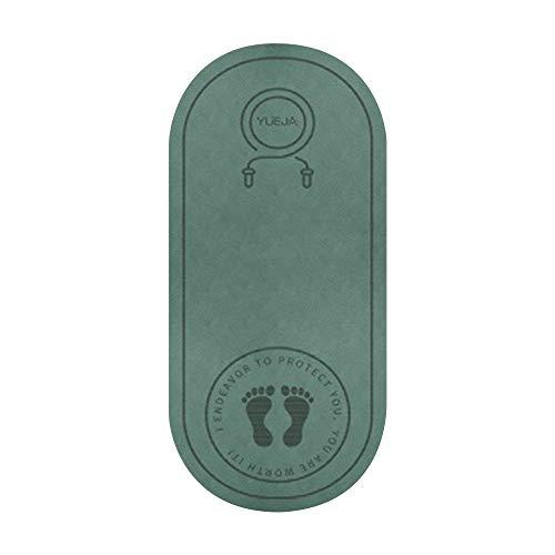 Chnrong Alfombrilla antideslizante e impermeable, resistente al sonido, de goma antideslizante para gimnasia, para saltar o hacer ejercicio