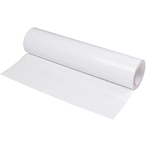 Rotolo Carta Trasferimento, 2M Trasferibili a Caldo, Termoadesivi, Pressa a a Caldo, Design Fai da Te per Magliette Bianco