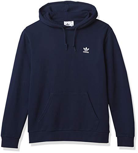 adidas Originals Trefoil Essentials Sudadera con capucha para hombre - azul - Large