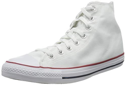 Converse Chuck Taylor all Star Hi, Scarpe da Ginnastica Unisex-Adulto, Bianco, 36 EU