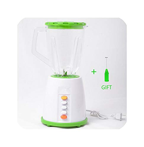 Buy BPA FREE 800W Household Food Processor 2 Group Blade Juicers Liquidificador Smoothie Machine Egg Beater Meat Grinder,green add gift,220V,UK Plug
