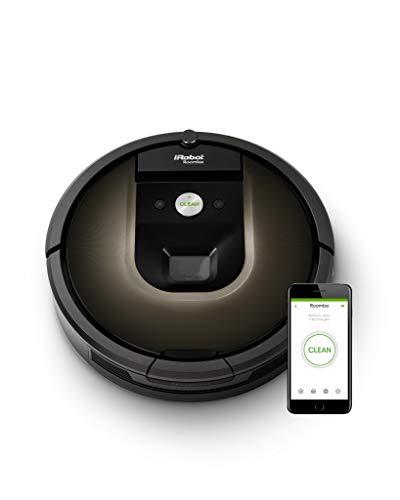 ルンバ980 アイロボット ロボット掃除機 Wi-Fi対応 マッピング 自動充電・自動再開 強い吸引力 R980060【Al...