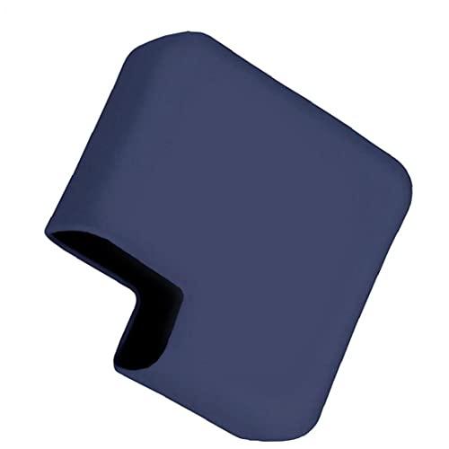 Obelunrp Protector de Cargador de Silicona Compatible con MacBook A1425 A1502 A1706 A1708 A2289 A2251 A2338 A2159 A1989 Adaptador de Corriente Azul Marino Azul Conveniente Accesorios electrónicos