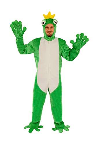 Froschkönig offen Einheitsgrösse L - XL Kostüm Fasching Karneval Maskottchen